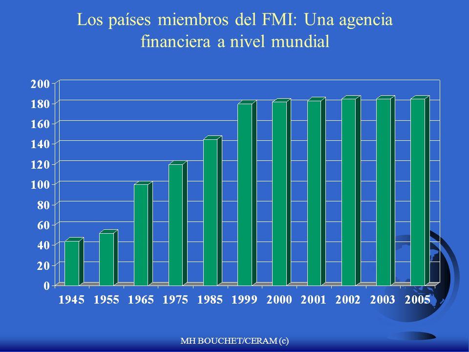 Los países miembros del FMI: Una agencia financiera a nivel mundial