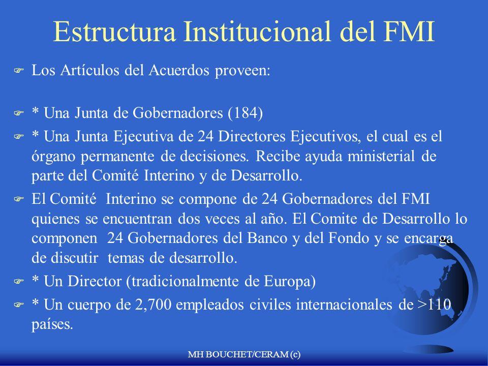 Estructura Institucional del FMI