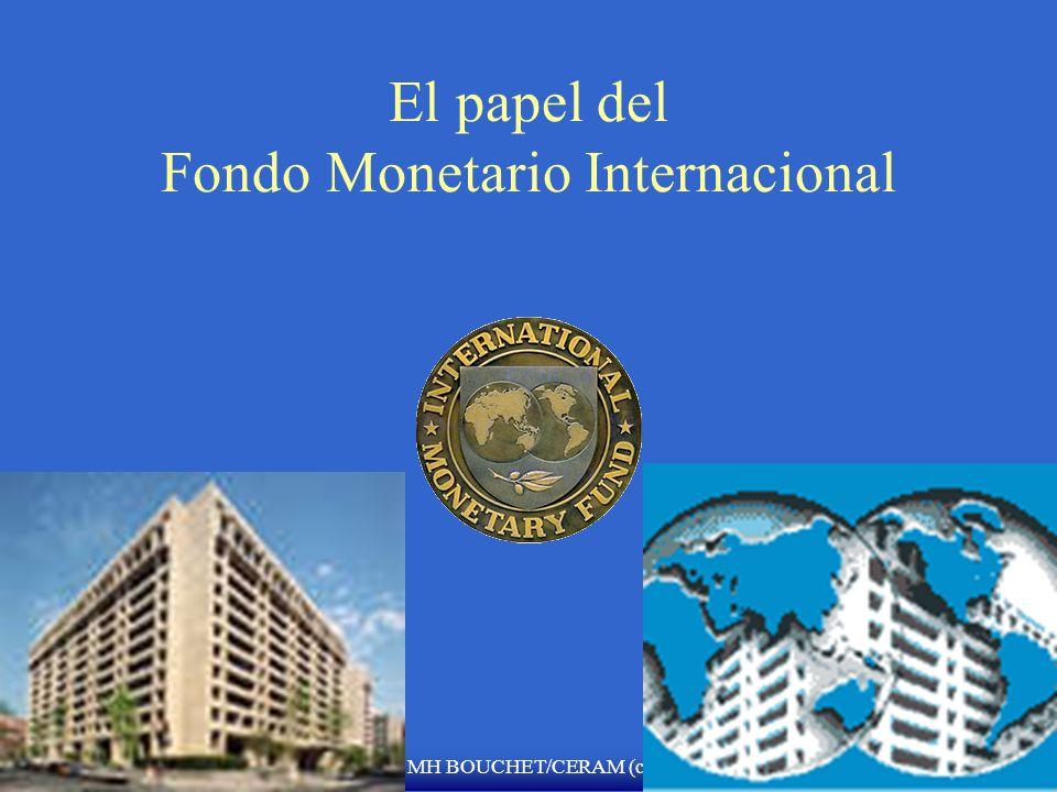 El papel del Fondo Monetario Internacional