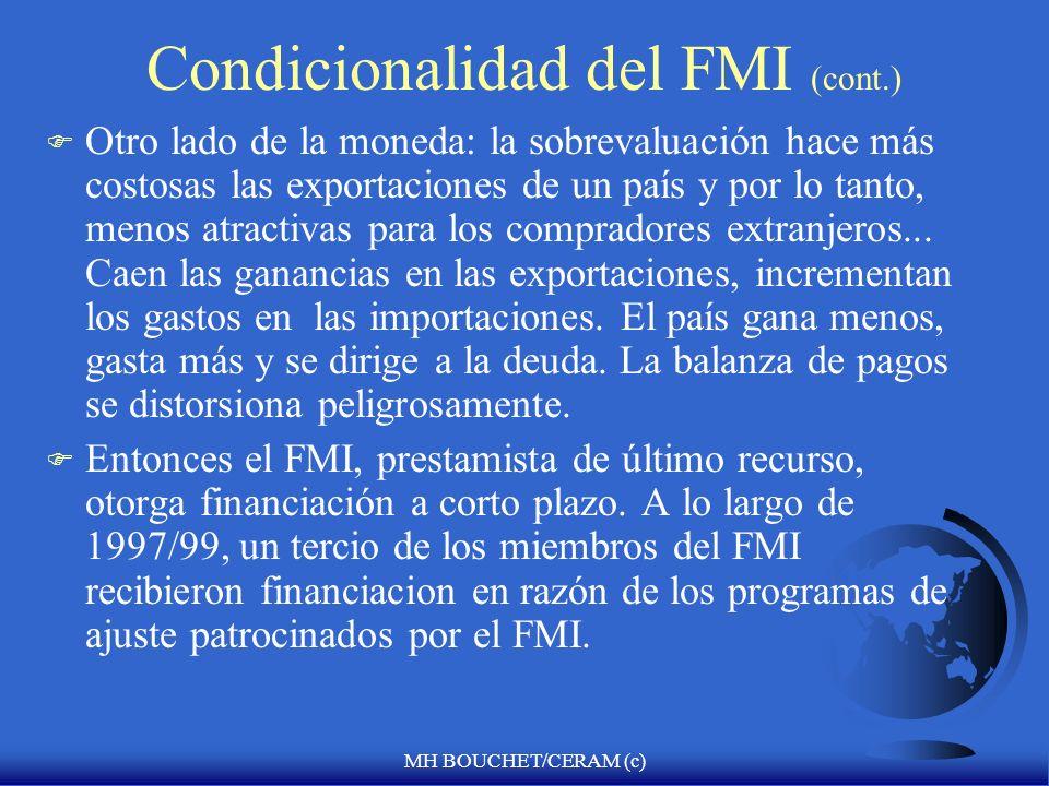 Condicionalidad del FMI (cont.)