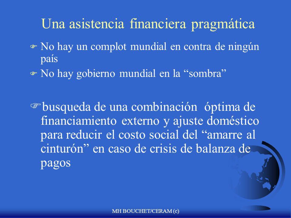 Una asistencia financiera pragmática