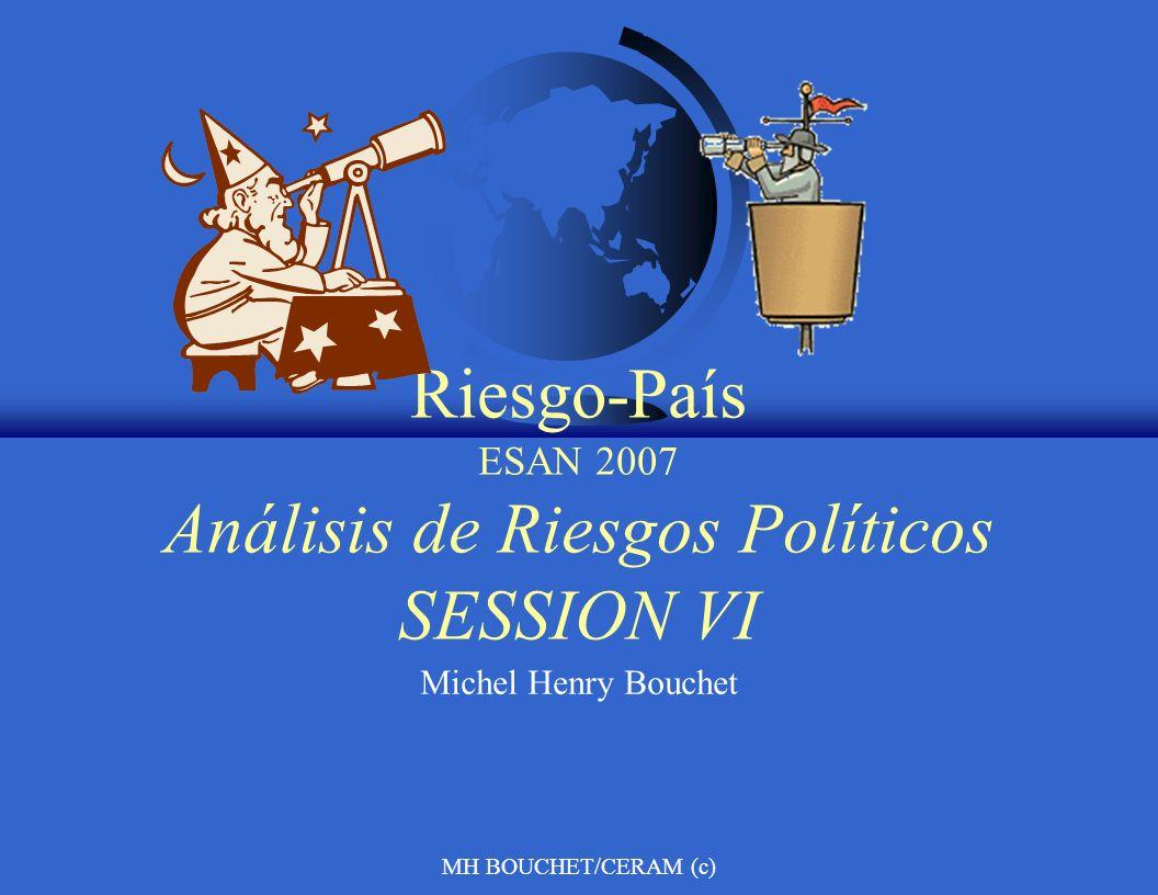 Riesgo-País ESAN 2007 Análisis de Riesgos Políticos SESSION VI