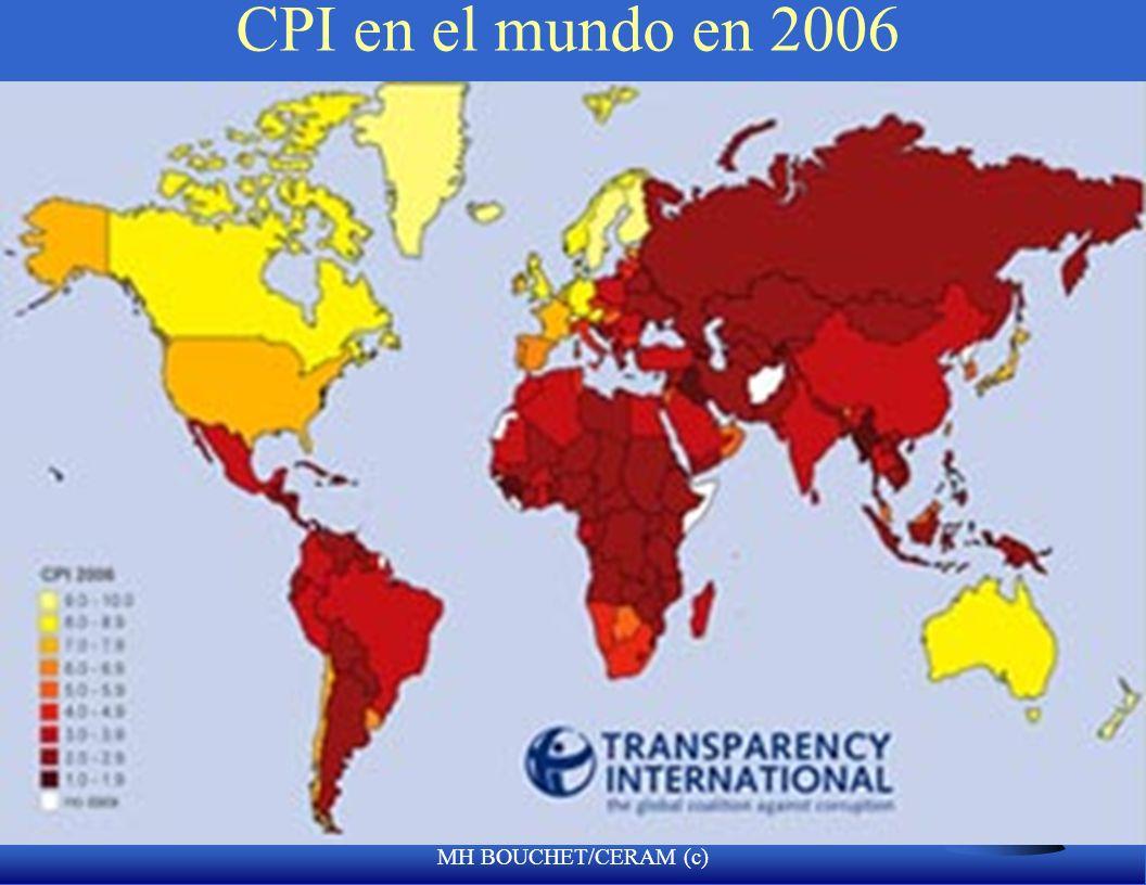 CPI en el mundo en 2006 MH BOUCHET/CERAM (c)