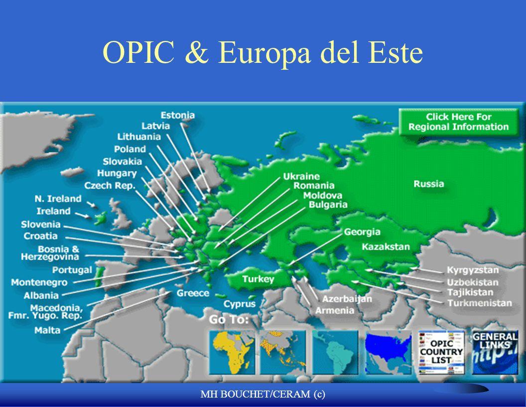 OPIC & Europa del Este MH BOUCHET/CERAM (c)