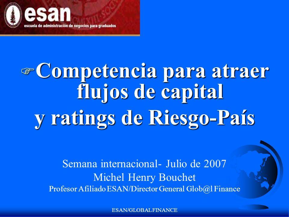 Competencia para atraer flujos de capital