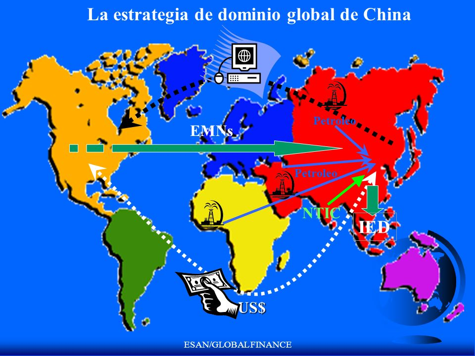 La estrategia de dominio global de China