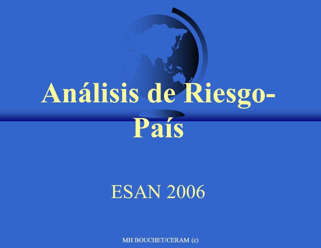 Análisis de Riesgo-País ESAN 2006