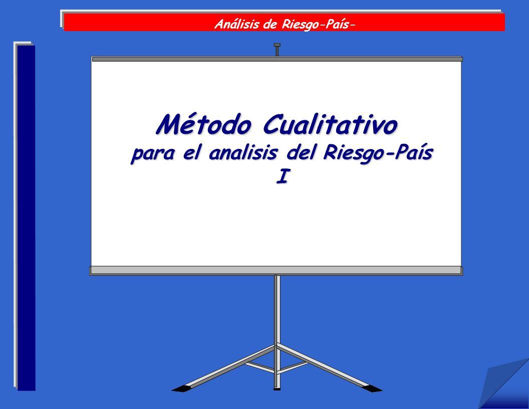 Análisis de Riesgo-País- para el analisis del Riesgo-País