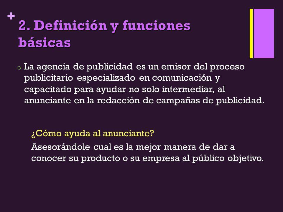 2. Definición y funciones básicas