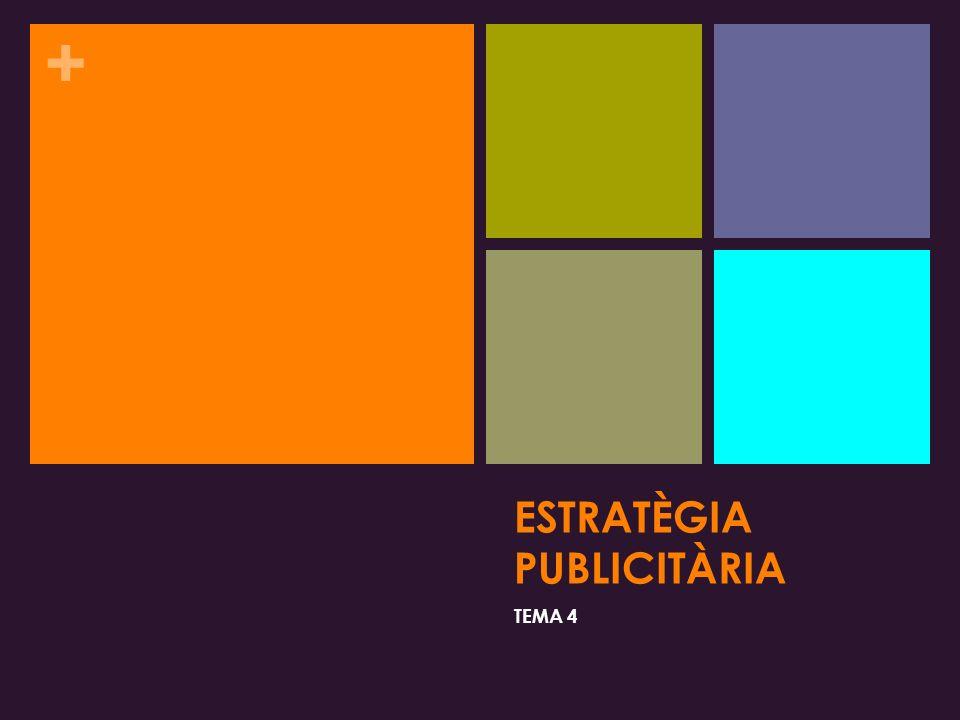 ESTRATÈGIA PUBLICITÀRIA