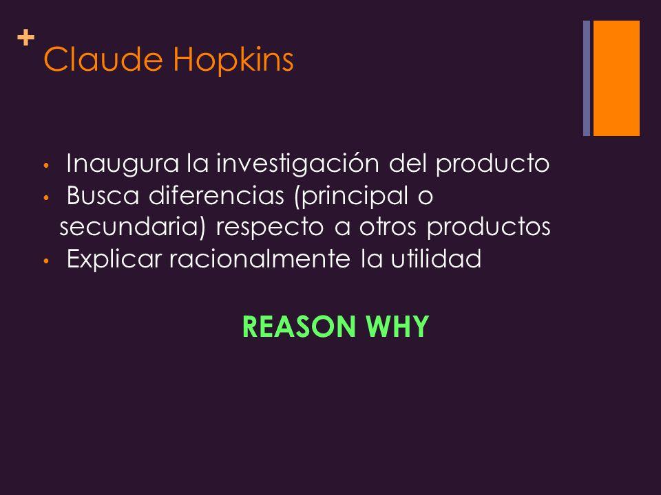 Claude Hopkins Inaugura la investigación del producto
