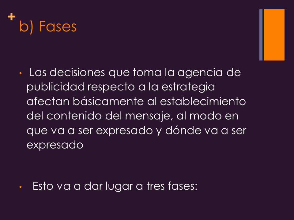 b) Fases