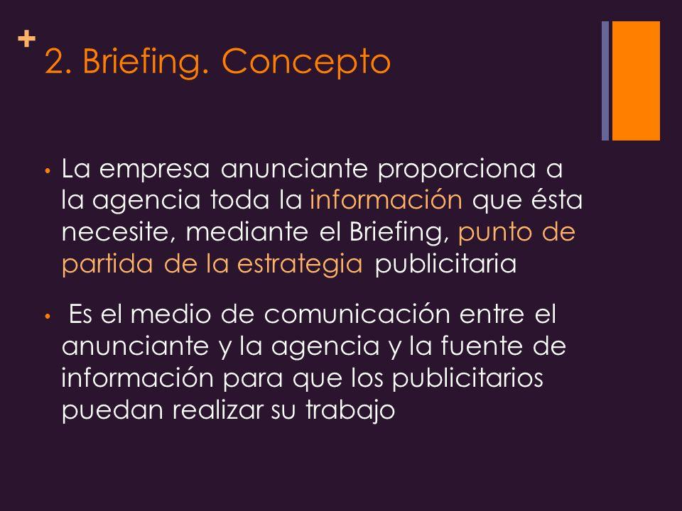 2. Briefing. Concepto