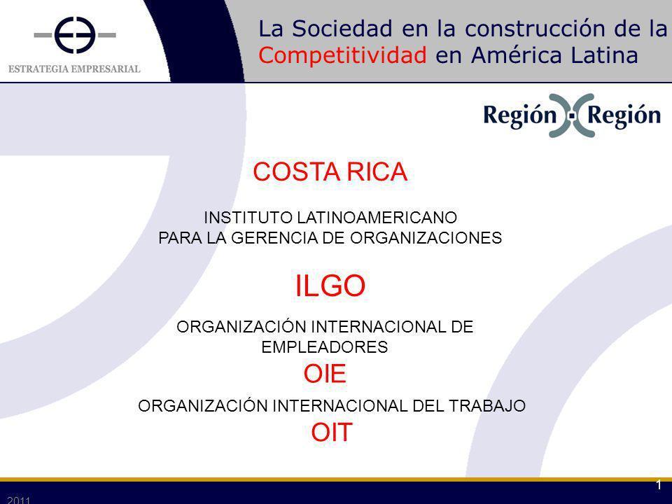 La Sociedad en la construcción de la Competitividad en América Latina