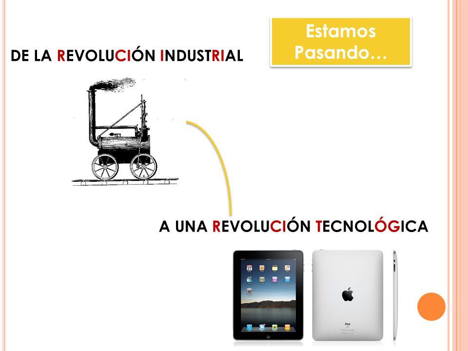Estamos Pasando… DE LA revolución industrial