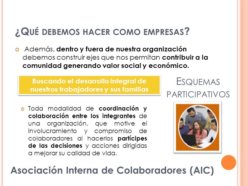 Esquemas participativos
