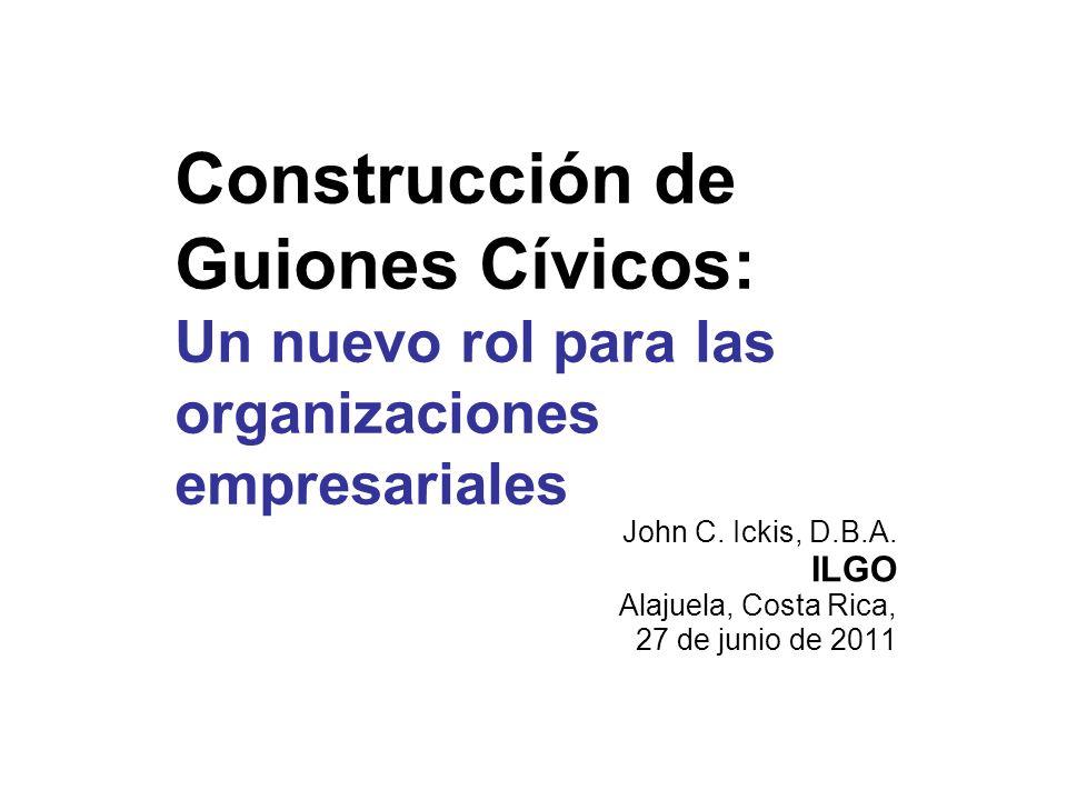 John C. Ickis, D.B.A. ILGO Alajuela, Costa Rica, 27 de junio de 2011