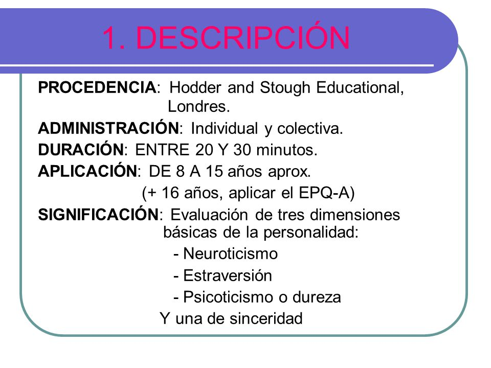1. DESCRIPCIÓN PROCEDENCIA: Hodder and Stough Educational, Londres.