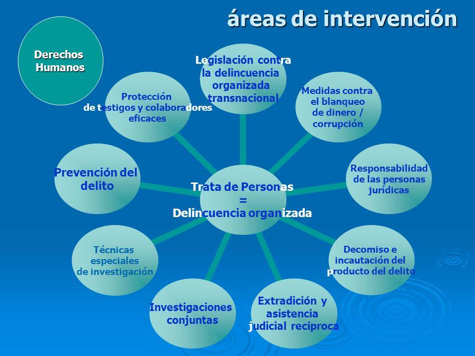 áreas de intervención Derechos Humanos