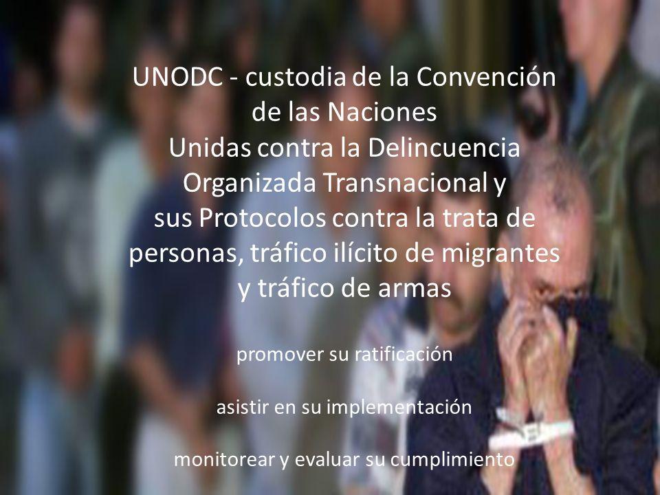 UNODC - custodia de la Convención de las Naciones