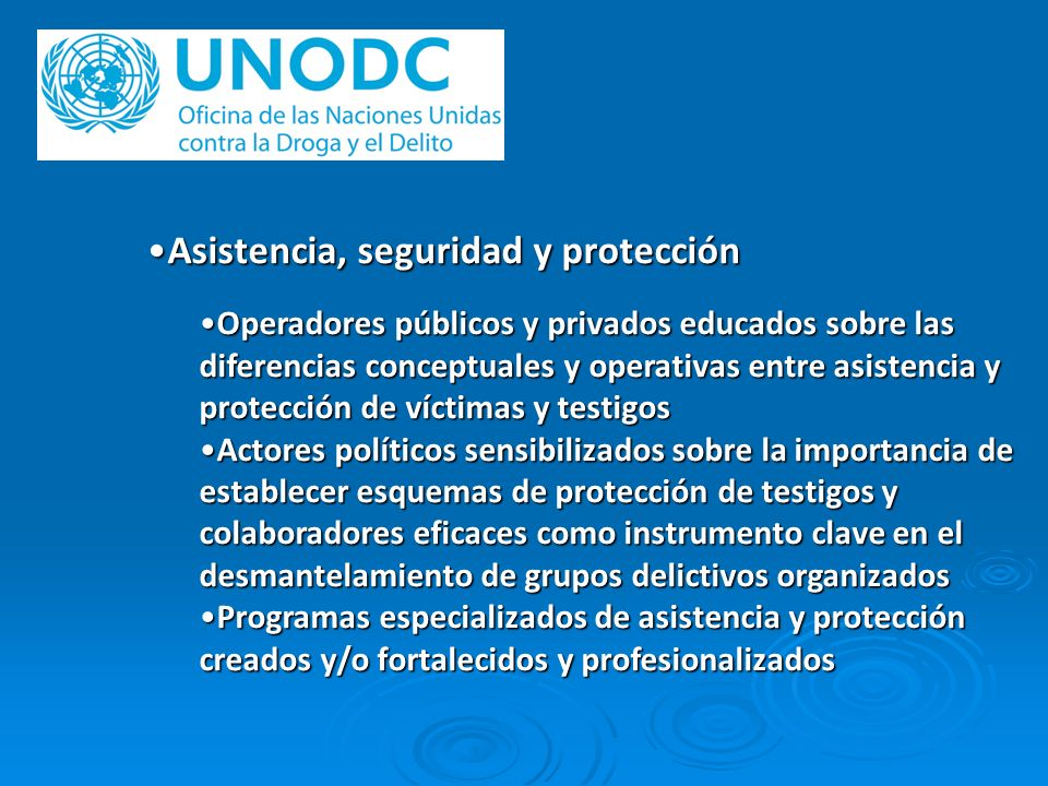 Asistencia, seguridad y protección