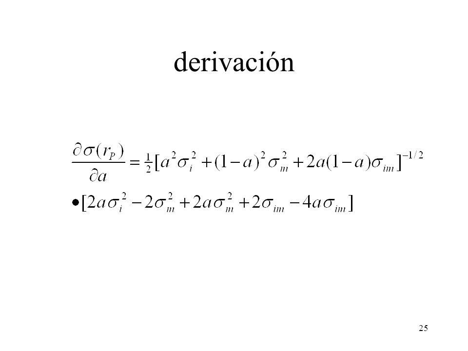 derivación