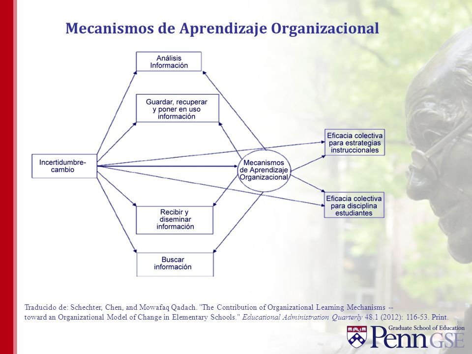 Mecanismos de Aprendizaje Organizacional