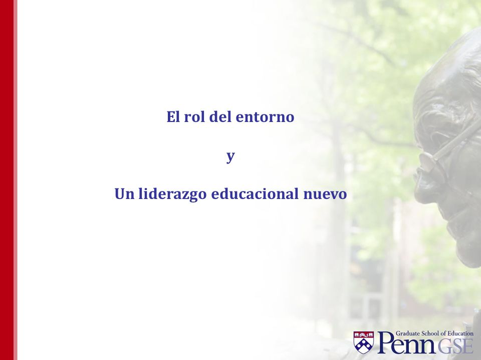 Un liderazgo educacional nuevo