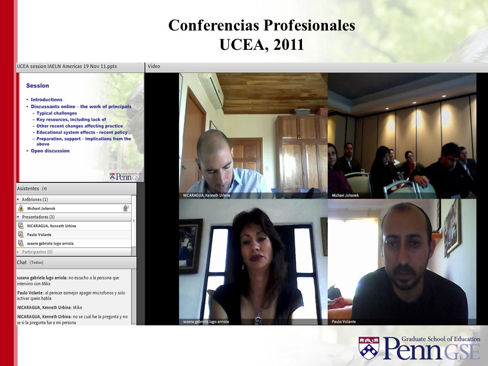 Conferencias Profesionales