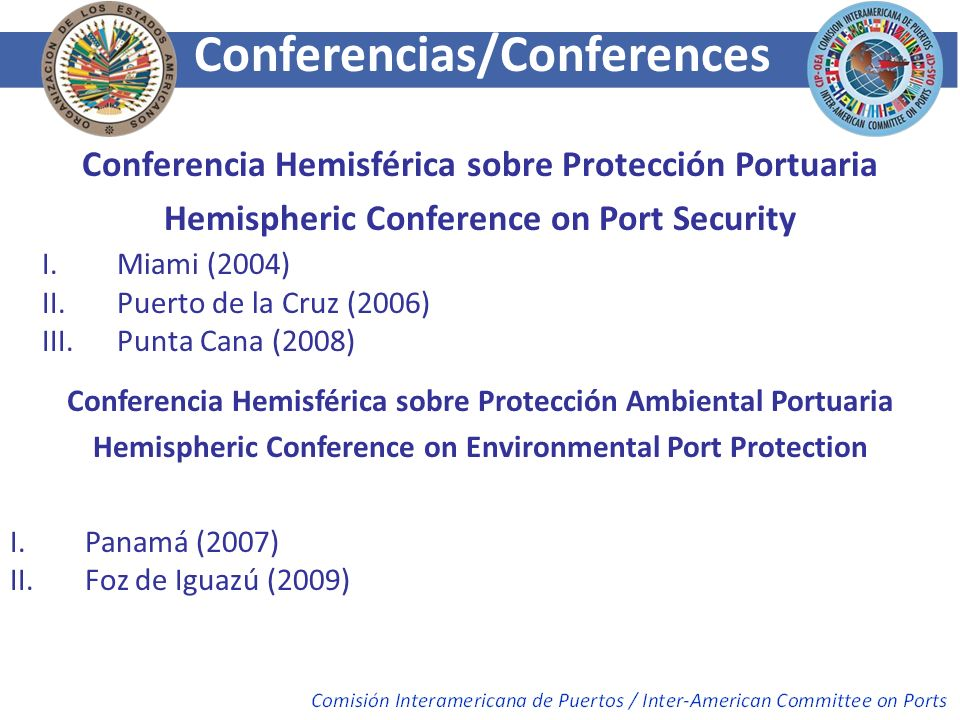Conferencias/Conferences