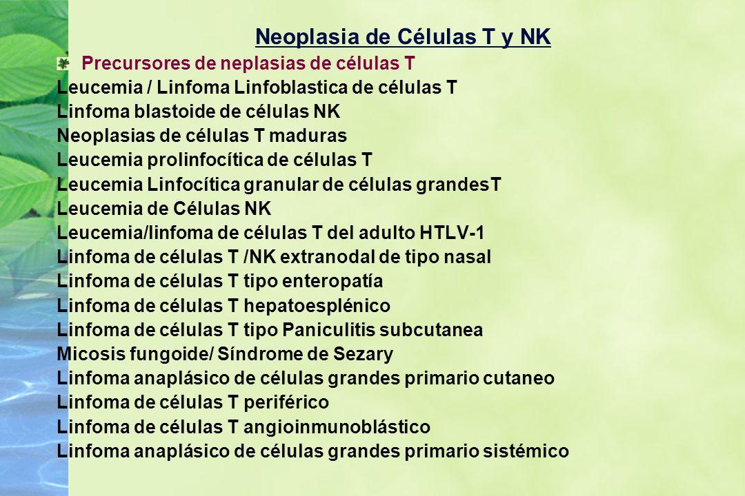 Neoplasia de Células T y NK