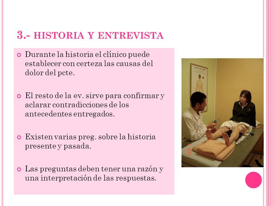 3.- historia y entrevista