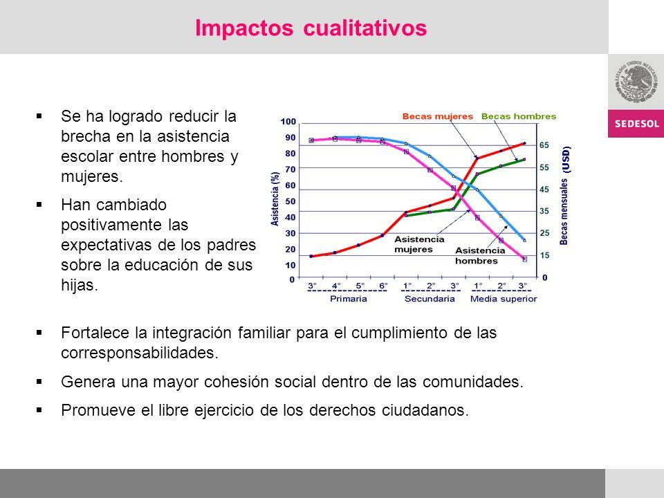 Impactos cualitativos