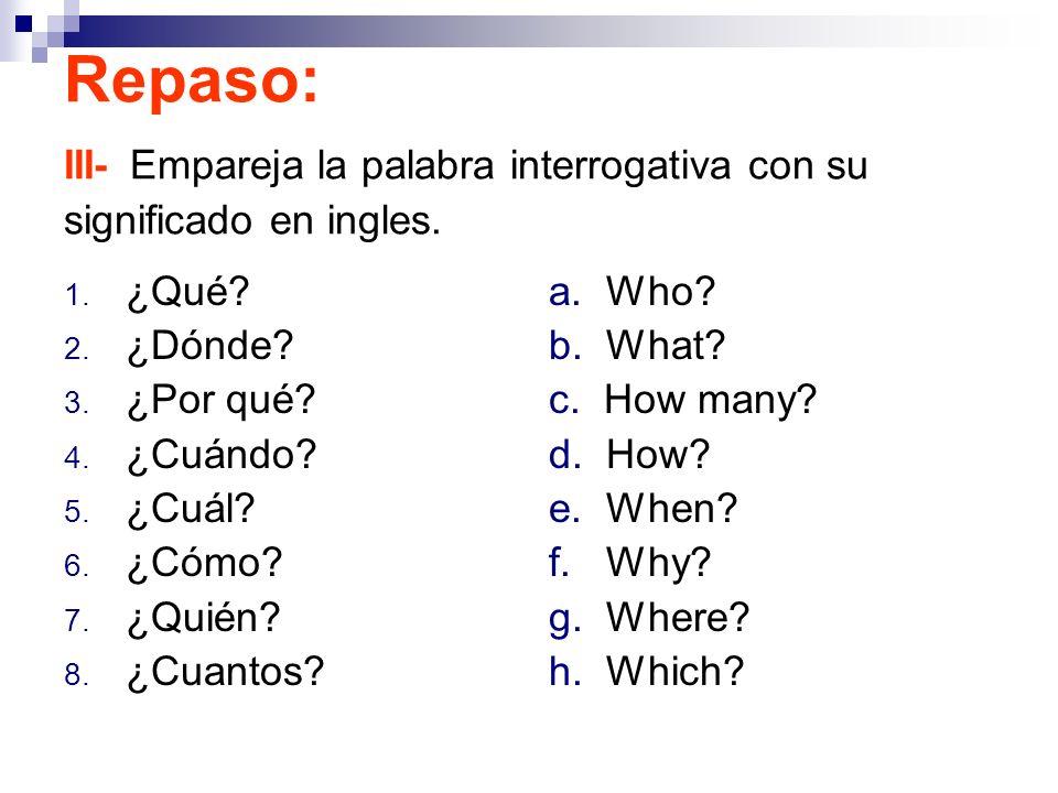 Que significa do my homework en ingles