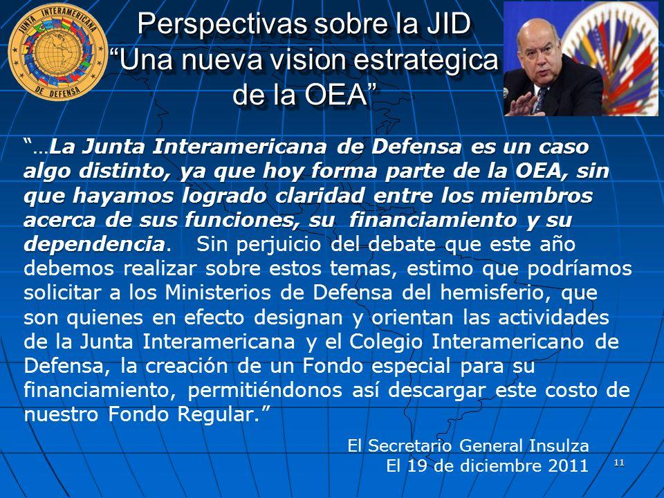 Perspectivas sobre la JID Una nueva vision estrategica de la OEA