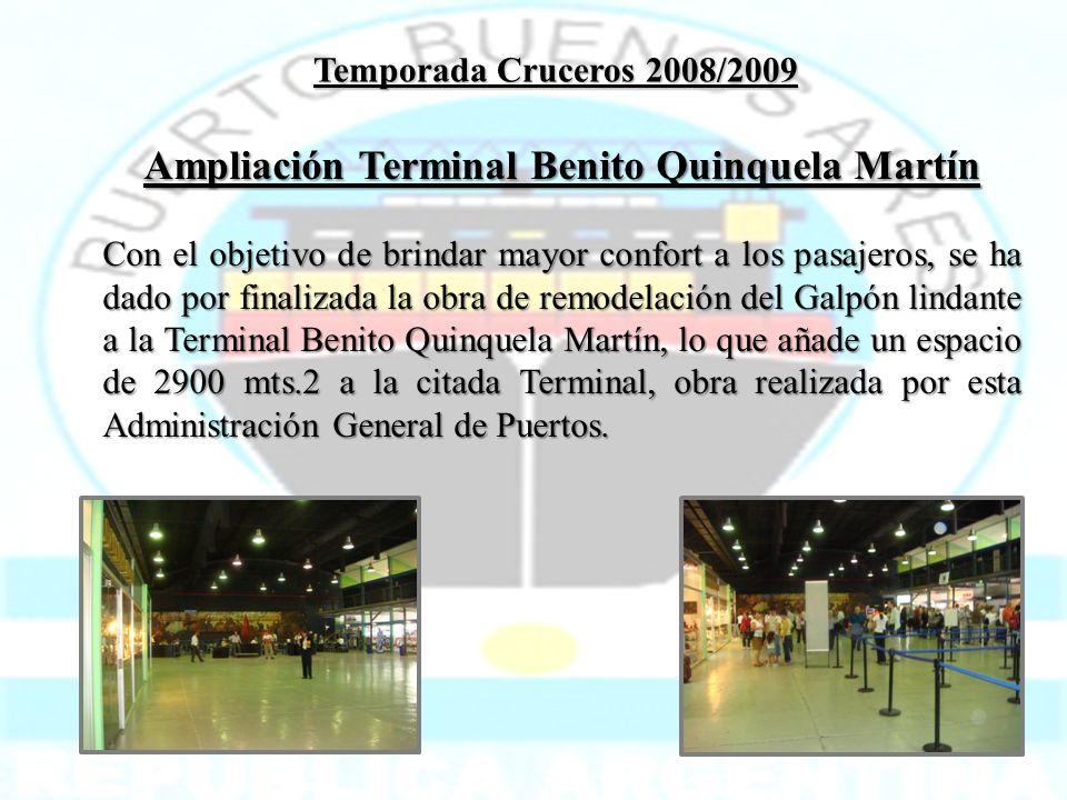 Ampliación Terminal Benito Quinquela Martín