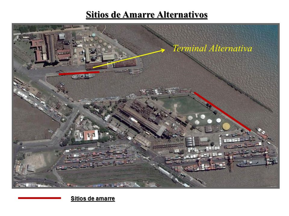 Sitios de Amarre Alternativos