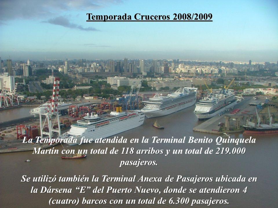 Temporada Cruceros 2008/2009 Temporada Cruceros 2006/2007.