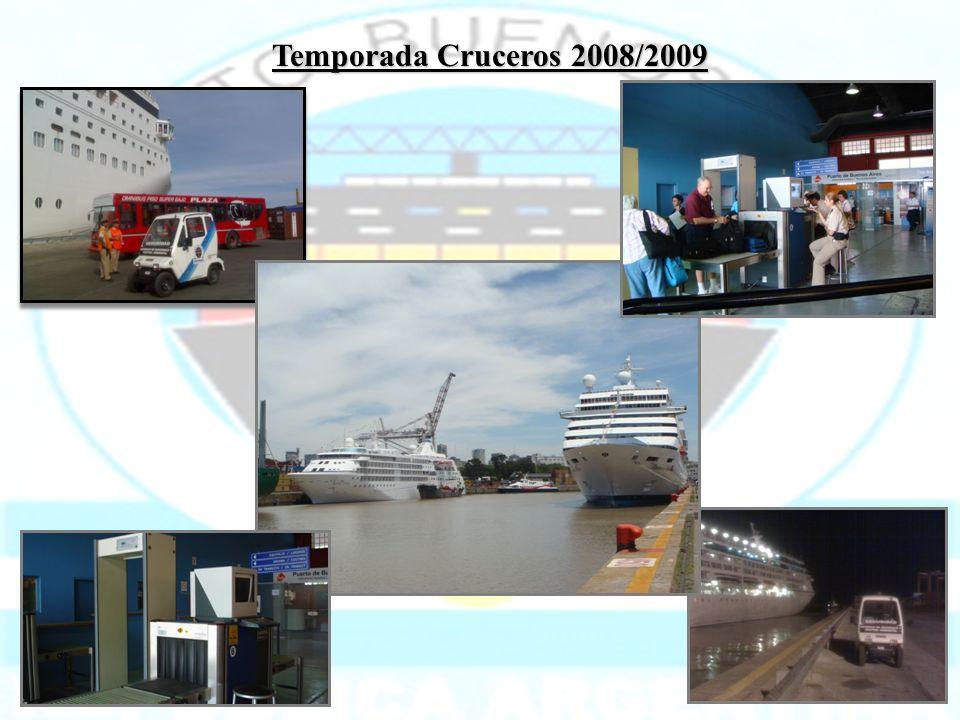 Temporada Cruceros 2008/2009