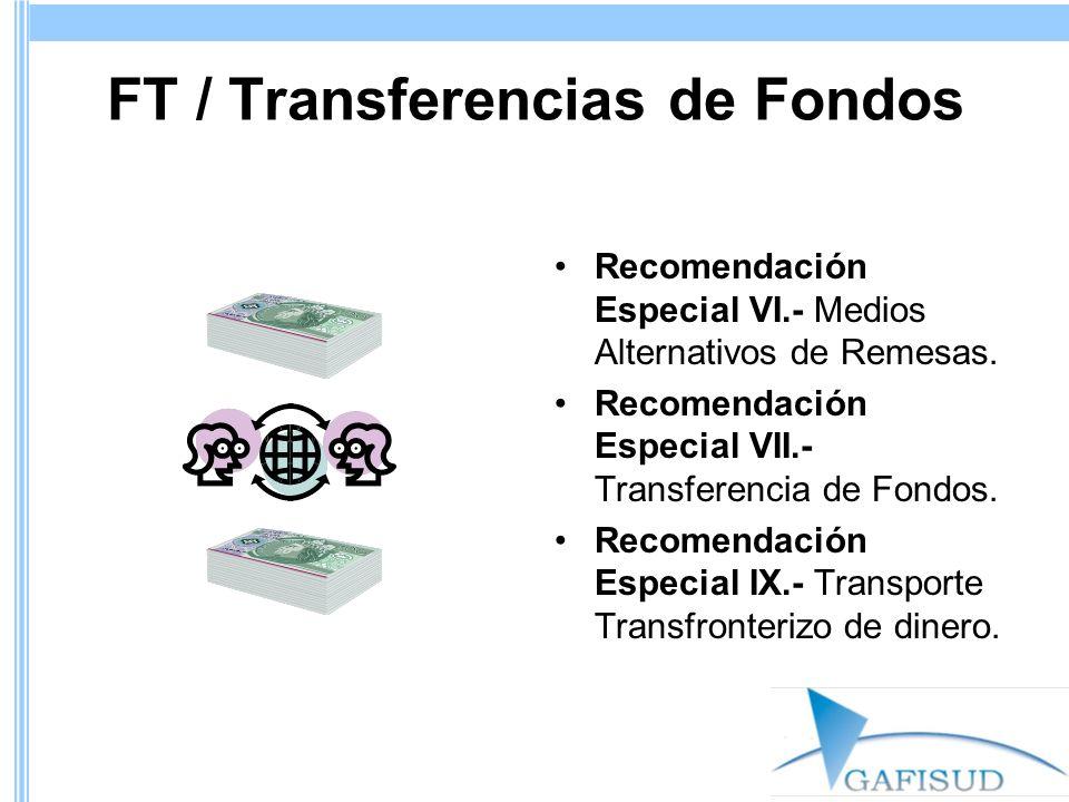 FT / Transferencias de Fondos