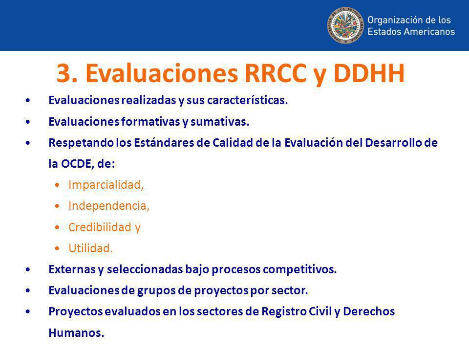 3. Evaluaciones RRCC y DDHH