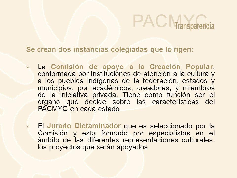 NUEVAS NORMATIVAS QUE IMPULSAN LA DESCENTRALIZACIÓN DEL PACMYC