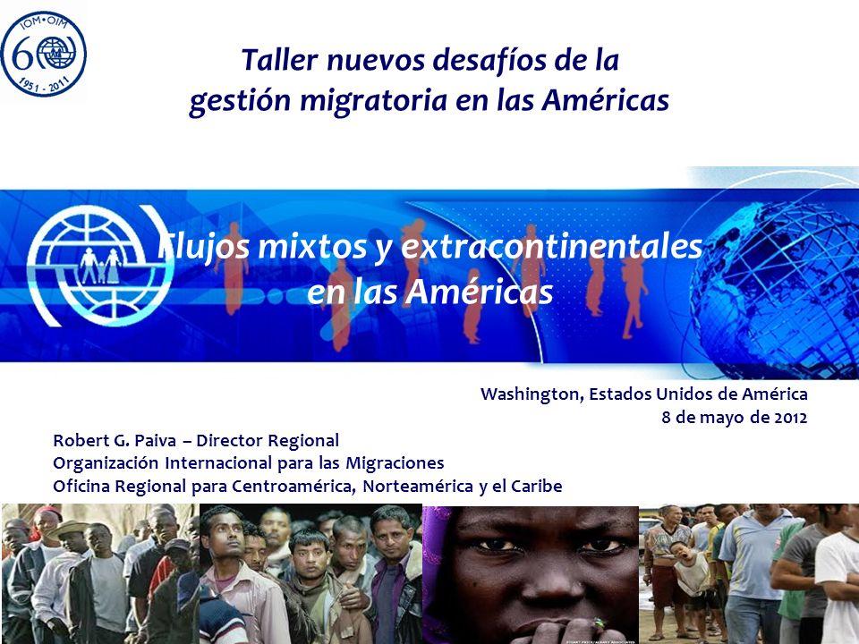 Flujos mixtos y extracontinentales en las Américas