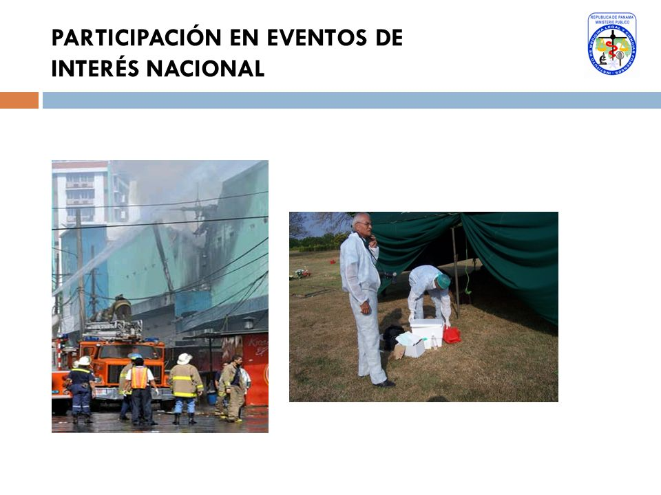 PARTICIPACIÓN EN EVENTOS DE INTERÉS NACIONAL