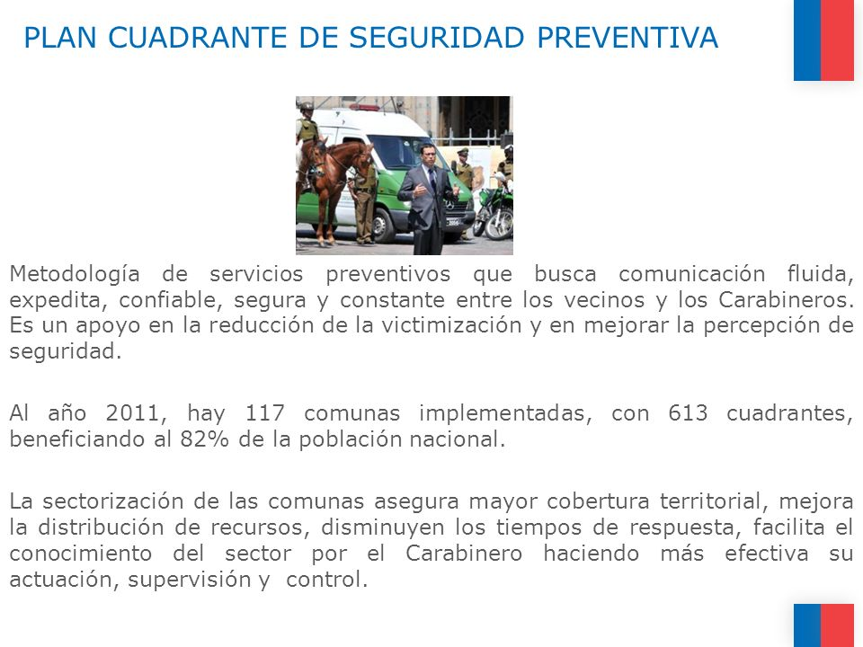 PLAN CUADRANTE DE SEGURIDAD PREVENTIVA