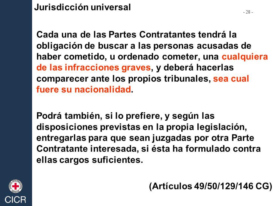 Jurisdicción universal