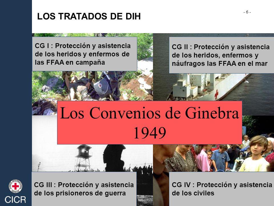 Los Convenios de Ginebra 1949