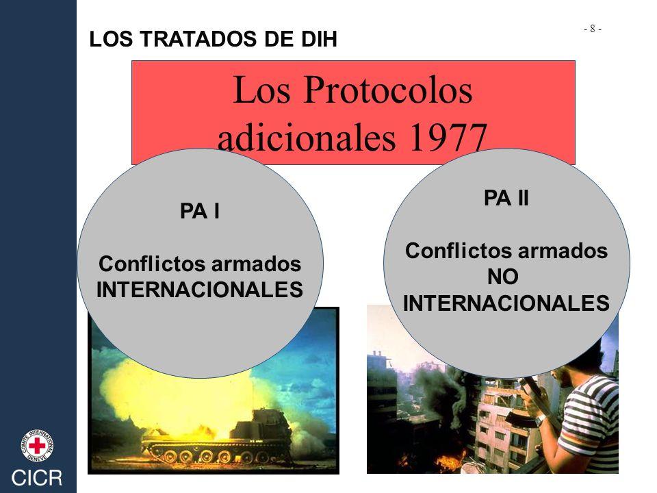 Los Protocolos adicionales 1977