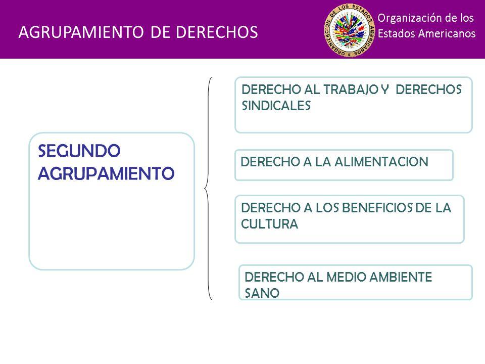 Financiamiento AGRUPAMIENTO DE DERECHOS SEGUNDO AGRUPAMIENTO