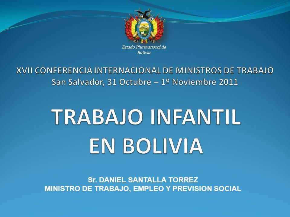 TRABAJO INFANTIL EN BOLIVIA
